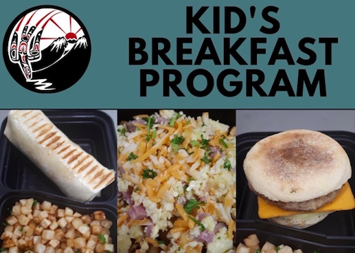 Dze L K'ant Kid's Breakfast Program